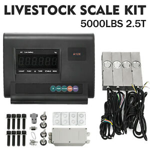Livestock Scale Kit For Cattle Hogs Sheep Goats Pigs Squeeze Chutes Pallet Scale