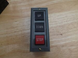 1 New W o Box Square D Up Down Stop Switch 9001bg305 600 V Max