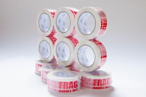 2 Mil Fragile Carton Sealing Packing Packaging Tape 2 X110 Y Upaknseal 330 Feet