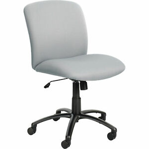 Mayline Safco Uber Big And Tall Mid Back Chair gray Model 3491gr