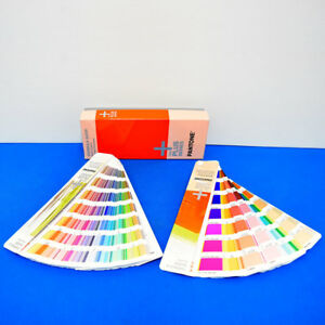 Pantone Plus Series Formula Guide Sold Coated Sold Uncoated Set