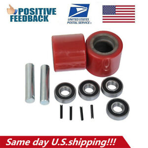 Eoslift Replacement Part Load Wheel Set For Manual Pallet Truck Jack Us