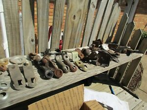 Collection 1900 s 1950 s Vintage Car Fog Light Mounts hot Street Rat Rod Truck
