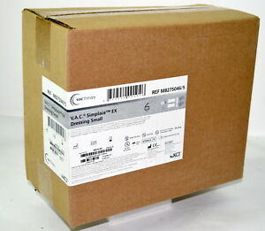 Box Of 5 Kci Activac Vac Simplace Ex Small Wound Therapy Dressing M8275046 2020
