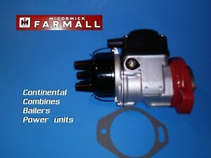 H4 Magneto For Baler Combines International Harvester Ih Farmall Continental