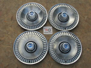 1964 Ford Galaxie 500 14 Wheel Covers Hubcaps Set Of 4