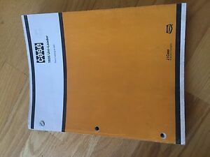 Case 1835 Skidsteer Uni Loader Skid Steer Parts Catalog Manual Used