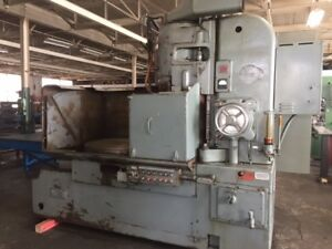 Blanchard 22d 42 42 Vertical Surface Rotary Grinder