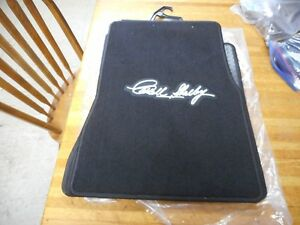New 2005 2009 Ford Shelby Mustang Black Floor Mats Front Carpet Shelby Signed