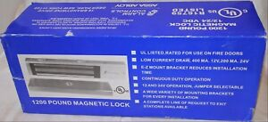 Alarm Controls Assa Abloy 1200 Pound Magnetic Lock New