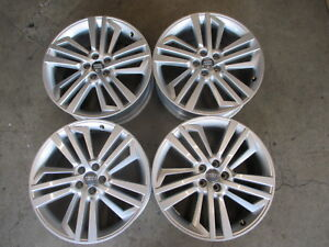 Four 2018 Audi Q5 Factory 20 Wheels Rims Oem 59038 80a601025ae Silver