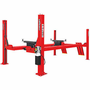 Forward Lift 4post Open Front Truck car Lift 215in 14 000lb Cap cro14n102yrd
