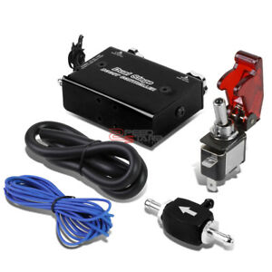Turbo Electronic Dual Stage Black Adjust Manual Boost Controller rocket Switch