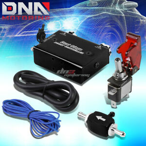 Universal Dual Stage Turbo charger Manual Bypass Psi Boost Controller switch Bk
