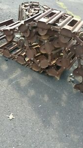 Steel Skidsteer Tracks Used 1x John Deere Bobcat Skid Loader Equipment