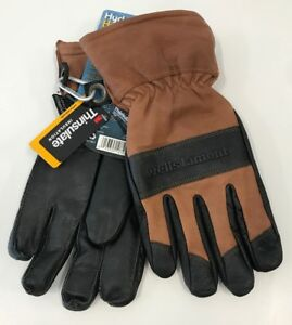 Men s Leather Winter Gloves Water resistant Hydrahyde 100 Gram Thinsulate Xxl