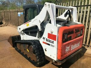 2015 Bobcat T590 Tracked Skid Steer A c Heat Low Hours