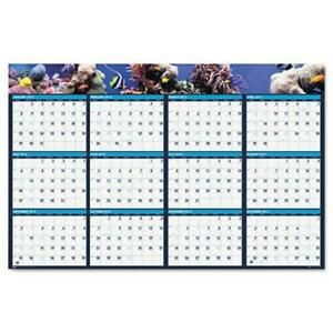 House Of Doolittle Hod3969 Sealife Lam Wall Planner