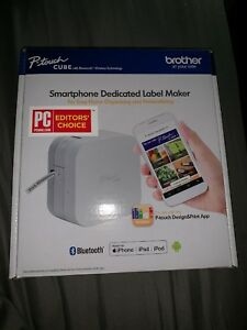 Brother P touch Cube Smartphone Label Maker Ptp300bt Please Read