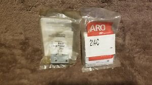 2 New Ingersoll Rand 214 c Aro Manual Air Control Valve 1 8in Npt