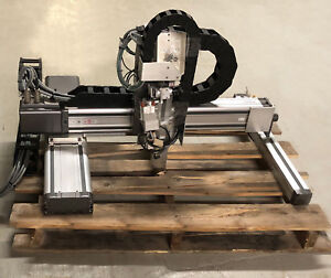 Nsk Adept Xy hrs055 20 x22 x5 Linear Stage Slide Xyz Cartesian Robot Actuator