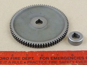 Excellent Original South Bend 9 Lathe 80 Tooth Threading Change Gear