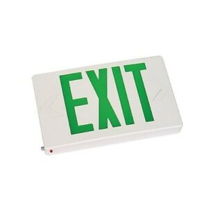 Led Exit Sign With Battery Backup 6 Pack