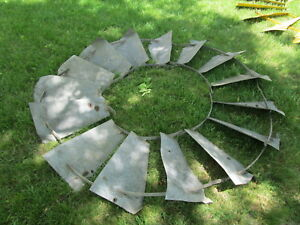 7ft Freeport Windmill Wheel Fan Good Wall Hanger
