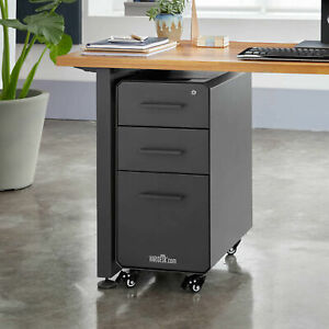 Varidesk Slim 2 drawer Vertical Filing Cabinet