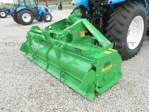 Rotary Tiller 8 6 Valentini Ar2500 trac tor 3pt pto Qh Compat Hd 110hp Gbox