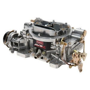Edelbrock 1906 Thunder Series Avs2 Carburetor 650 Cfm 4 Barrel Electric Choke
