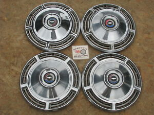 1968 Chevy Chevelle Malibu 14 Wheel Covers Hubcaps Set Of 4