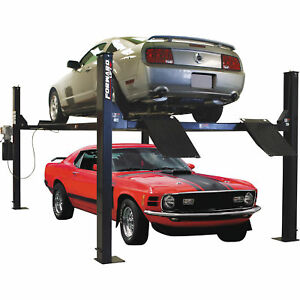 Forward Lift 4post Truck car Lift 9000lb Cap efp9000m