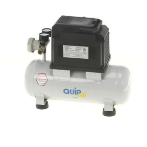 Quipall 2 33 Oil Free Compressor 1 3 Hp 2 Gallon steel Tank New