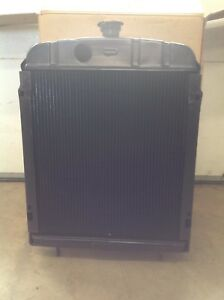 New Ih Farmall Radiator Fits Farmall H W4 Supers 352628r92