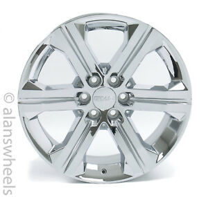 4 New Gmc Sierra Denali Yukon Xl Factory Oem 22 Chrome Wheels Rims Lugs Ck157