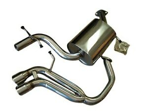 Fits Vw Golf V Gti 2 0t 06 09 Top Speed Pro 1 Performance Catback Exhaust System