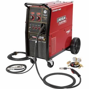 Lincoln Electric Power Mig 256 Wire feed Welder 300 Amps K3068 1