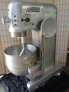 Hobart L800 Commercial 80 Quart Dough Mixer W 80qt Bowl 3 Phase 208v Pizza