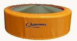 New 14x5 Air Filter Outerwear Orange Pre filter Cover Modified Stock Car Imca