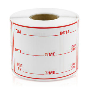 Inventory Blank Labels Use By Date First Count Inspected Stickers 3 X 2 10pk