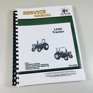 Technical Service Manual For John Deere 1530 Tractor