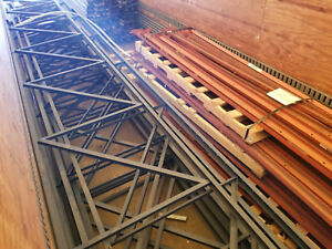 8 Lot 27 Tall X 42 Wide Pallet Flow Rack Racking Up Rights W 60 12ft Supports