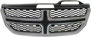 Cpp Black Grill Assembly For 2011 2015 Dodge Journey Grille