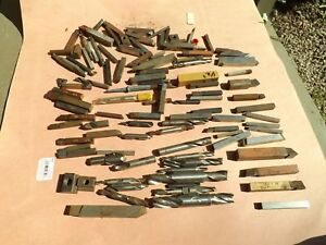 Lot Of 100 End Mills High Speed Cutters Etc Osg Morse Mo Max Etc