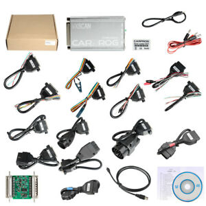 Vxscan Carprog Software V10 93 With 21 Adapters Airbag Reset Function Universal
