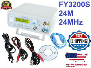 Fy3224s 24mhz Dual channel Waveform Dds Function Signal Generator Freeshipping