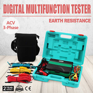 Multimeter Insulation Tester 4 In 1 Insulation Tester Earth Resistance Tester