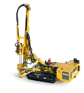 Ros 002104y Hutte Hbr 605 Hydraulic Drill Rig yellow