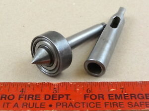 Very Nice Atlas Craftsman 6 618 Mt1 Live Center Mt2 Adapter Arbor Tool 4 Lathe